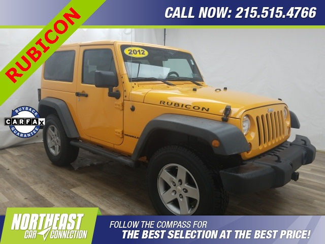Pre-Owned 2012 Jeep Wrangler Rubicon
