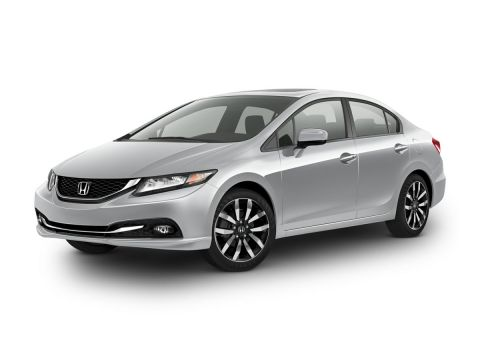 Pre-Owned 2015 Honda Civic EX-L